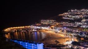 Puerto Rico-Strand, Gran Canaria-Insel, Spanien stockbild