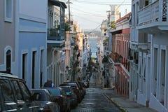 Puerto rico street Royalty Free Stock Photography