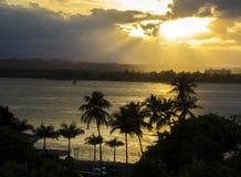 Puerto Rico Sunset Royalty Free Stock Image