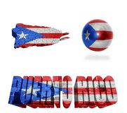 Puerto Rico Symbols Photo stock