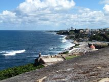 Puerto Rico - wyspa Borinquén Obraz Royalty Free