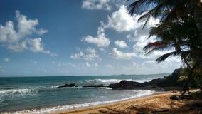 Puerto- Ricoküste an der Dämmerung Lizenzfreie Stockfotos