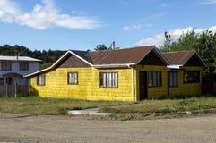 Puerto Rio Tranquilo, Patagonia, Chili Photo stock