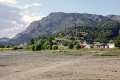Puerto Rio Tranquilo, Patagonia, Chili Photographie stock libre de droits