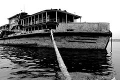 Puerto Rusia de Cherepovets Fotos de archivo libres de regalías