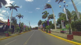 Puerto Salvador Allende is one of the most entertainment places of the city of Managua on Nicaragua stock video footage