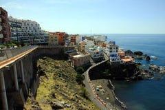 Puerto Santiago Fotos de archivo libres de regalías