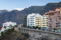 Free Puerto Santiago Resort Town And Los Gigantes Rocks, Tenerife Stock Photography - 55708262