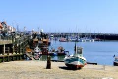 Puerto, Scarborough imagen de archivo