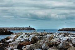 Puerto seguro Fotos de archivo libres de regalías