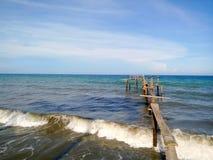 Puerto silencioso Fotografía de archivo libre de regalías