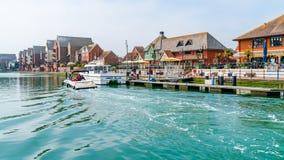 Puerto soberano en Eastbourne, Sussex del este, Reino Unido fotos de archivo