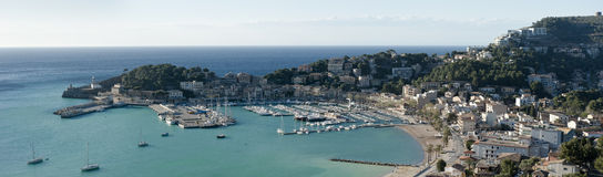 Puerto Soller Royalty Free Stock Image