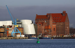 Puerto Stralsund Foto de archivo libre de regalías