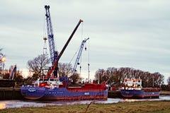 Puerto Sutton Bridge Imagenes de archivo