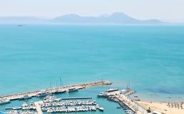 Puerto Túnez Fotografía de archivo libre de regalías