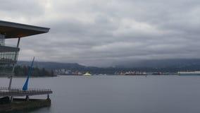 Puerto Timelapse, Vancouver, A.C. 4K del carbón UHD almacen de video