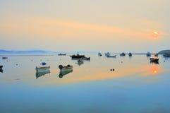 Puerto tranquilo foto de archivo libre de regalías