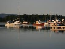 Puerto tranquilo Fotografía de archivo libre de regalías
