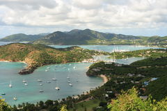 Puerto tropical Foto de archivo