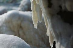 Puerto turístico, invierno fotografía de archivo libre de regalías