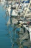 Puerto turístico - Italia Foto de archivo