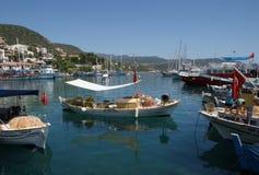 Puerto turco Imagen de archivo libre de regalías