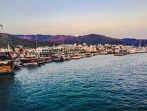 Puerto turco Imágenes de archivo libres de regalías