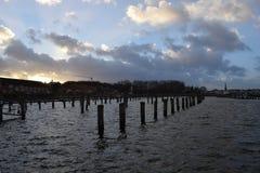 Puerto vacío foto de archivo