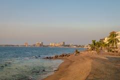 Puerto Vallarta beach - Puerto Vallarta, Jalisco, Mexico. Puerto Vallarta beach in Puerto Vallarta, Jalisco, Mexico Stock Photography