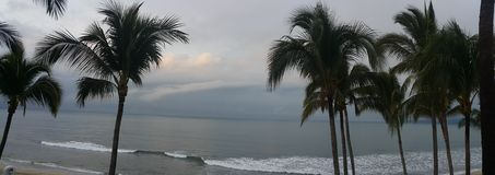 Puerto vallarta beach setting Stock Photo