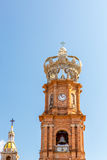 Puerto Vallarta Cathedral Stock Photography