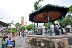 Puerto Vallarta main plaza Royalty Free Stock Photos