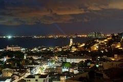 Puerto Vallarta, Meksyk od ptasiego widok Obraz Stock