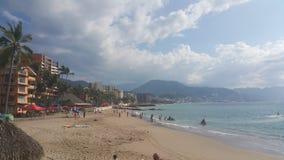 Puerto Vallarta, Mexico. Beach Royalty Free Stock Photo