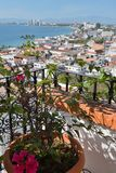 Puerto Vallarta. Scenery over the Bay of Banderas Royalty Free Stock Images