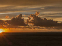 Puerto Vallarta solnedgång 2 Arkivbild