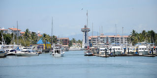 Puerto- Vallartajachthafen Lizenzfreie Stockfotografie
