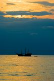 Puerto- Vallartasonnenuntergang Lizenzfreie Stockfotografie