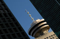 Puerto Vancouver de centro Foto de archivo libre de regalías