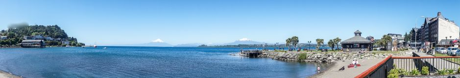 Puerto Varas, Chile royalty free stock photo