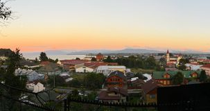 Puerto Varas and llanquihue Lake, Patagonia, Chile Royalty Free Stock Photos