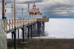 Puerto Varas, o Chile imagem de stock
