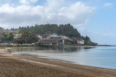 Puerto Varas stawia czoło Llanquihue jezioro, Chile Zdjęcia Royalty Free
