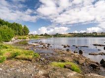 Puerto Varas zu Frutillar stockbild