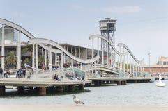 Puerto Vell en Barcelona imagen de archivo libre de regalías