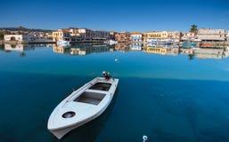 Puerto veneciano viejo de Rethimno, Creta imágenes de archivo libres de regalías