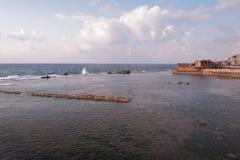 Puerto viejo - acre - Israel Foto de archivo