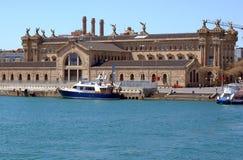 Puerto viejo de Barselona imagen de archivo