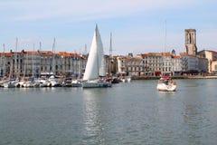 Puerto viejo de La Rochelle, Francia Fotos de archivo